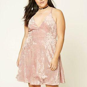 Velvet Rosie low cut dress